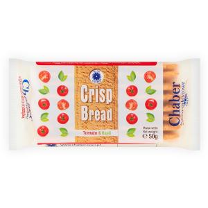 Pieczywo żytnio-orkiszowe pomidory i bazylia 50g