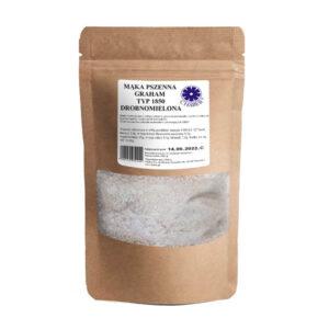 Mąka pszenna graham typ 1850 drobno mielona BEZ WYBIELACZY I DODATKÓW